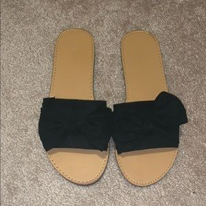 Forever 21 bow sandals